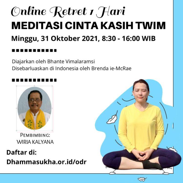 Online One day retreat TWIM 31 Okt 2021